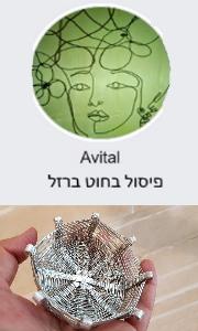 Avital - פיסול בחוט מתכת