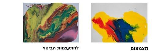 פסיכותרפית הצבע - דוגמא מצימצום להתעצמות הביטוי