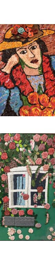 איילת סלע - סדנאות פסיפס - גלריה  - קורס פסיפס בהוד השרון - איילת סלע