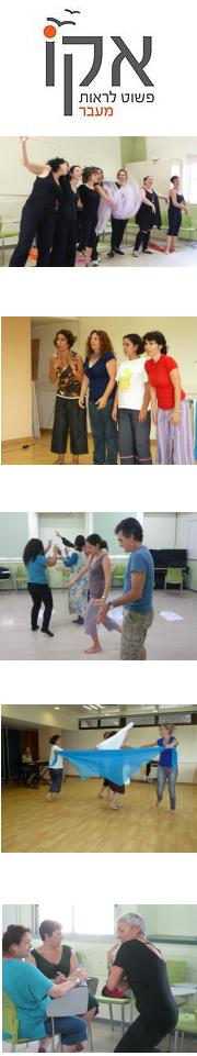 פלייבק תרפיה - תכנית שנתית לאנשי חינוך, טיפול ומנחי קבוצות - סדנת תיאטרון פלייבק  בתל אביב ובפרדס חנה