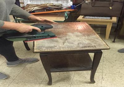 סדנת שיפוץ רהיטים