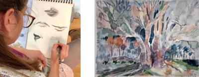 קורס רישום וציור - בחיפה