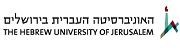האוניברסיטה העברית ביהס לחינוך המחלקה להשתלמויות - לימודים להרחבת הסמכה להוראת תנך בחינוך הממלכתי העל יסודי