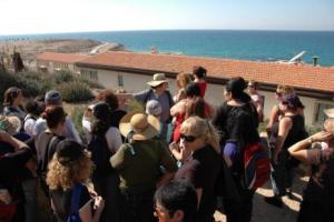סמינר תל אביב  - קורס מרוכז - סיור לימודי בתל אביב