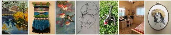 שילוב אמנויות אצל רותי קליין -  עיצוב והלבשת הבית