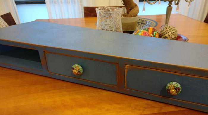 שידת מגירות מחודשת - קורס עיצוב וחידוש רהיטים