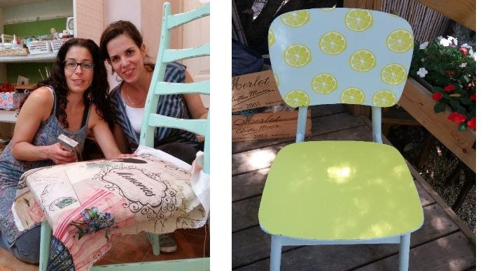 קורס עיצוב וחידוש רהיטים - כיסאות מעוצבים מחודשים