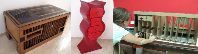 קורס בניית רהיטים מקרטון