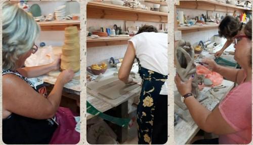 עבודה בסטודיו יד יוצרת