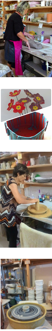 יד יוצרת – סטודיו לקדרות פיסול וקרמיקה - קורסים לגימלאים - קורסי קדרות פיסול וקרמיקה - נס ציונה